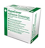 Safety First Aid 8.6 x 6 cm Adhesive Wound Dressings - Box of 25