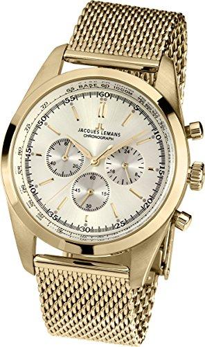 Jacques Lemans Nostalgie N-1560C Gents Mesh Bracelet Watch