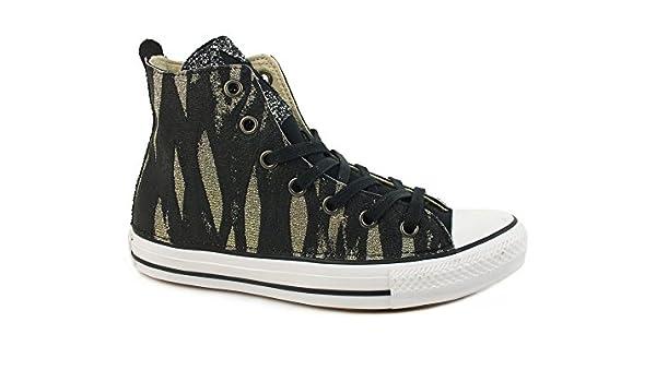 CONVERSE C.T. All Star Hi LTD sneakers TESSUTO BLACK JUNGLE