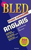 Bled Anglais Études supérieures