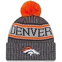 finest selection 0ddf4 f01cf New Era NFL Denver Broncos 2018 Sideline Graphite Sport Knit