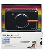 Polaroid Snap Instant Digital Camera (Black) wih ZINK Zero Ink Printing Technology