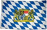 SCAMODA Bundes- und Länderflagge aus wetterfestem Material mit Metallösen 60x90cm