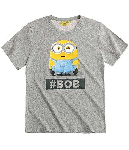 Camiseta de Los Minions en gris