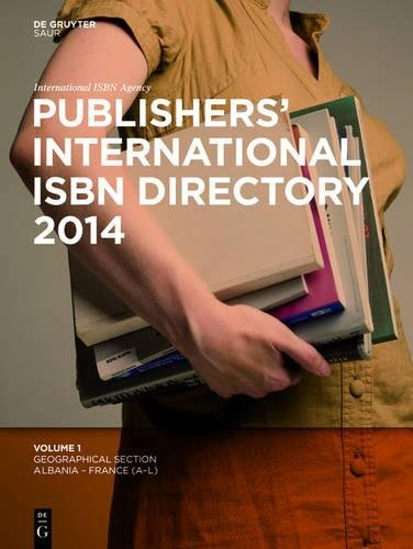 Publishers\' International ISBN Directory 2014, 6 Vols.