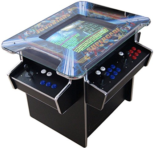 G-70 Arcade Cocktail Tisch Video Maschine TV Spielautomat Cabinet Automat 1293 Spiele Jamma Games Machine
