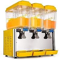 Bisujerro Dispensador de Bebida Frío 250W/380W Dispensador para Jugo Caliente y Frío Dispensador para