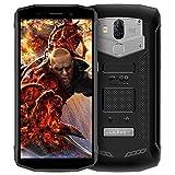 Blackview BV5800 Outdoor Handy Wasserdicht, IP68 Stossfest Wasserdicht 5580mAh 10W Schnellladung, 4G, 13MP + 8MP Kameras, 2GB+16GB ROM mit 5.5 Zoll Display, Android 8.1 System Schwarz