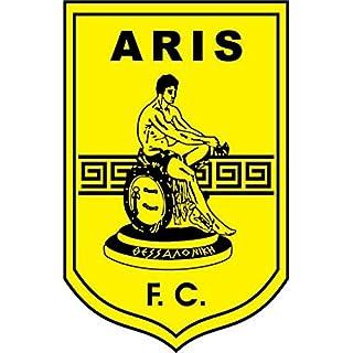 Aris F.C. Greece Soccer Hochwertigen Auto-Autoaufkleber 8 x 12 cm