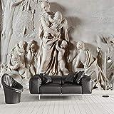 Hwhz Personnalisé Photo Papier Peint Style Européen 3D Relief Stéréoscopique Ange Grand Mur Peinture Hôtel Salon Mur Papier Peint Chambre-280X611Cm