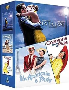 La Land + Chantons sous la Pluie + Un Américain à Paris - Comédies Musicales - Coffret DVD