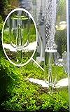 Diffusore di CO2 in vetro pollinico con contabolle per vasca per acquario