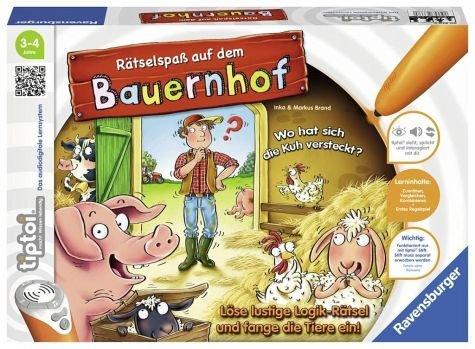 Ravensburger tiptoi 00830 Rätselspaß auf Dem Bauernhof