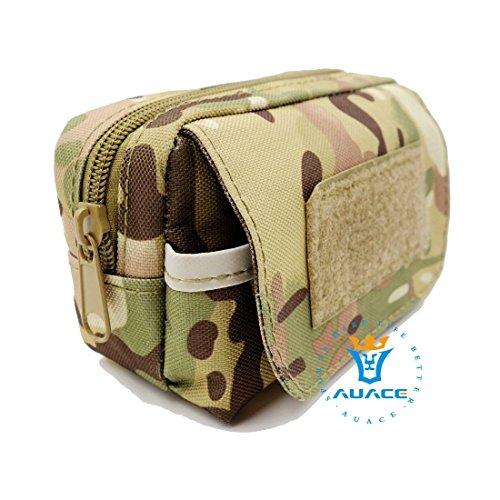 Multifunktions Survival Gear Tactical Beutel MOLLE POUCH Erkennung Taille Bag, Outdoor Camping Tragbare Travel Bags Handtaschen Werkzeug Taschen Handy Pouch CP