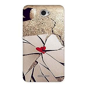 Broken Heart Ace Back Case Cover for Sony Xperia E4