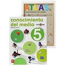 Conocimiento del medio. 5 Primaria. Timonel. Castilla y León - 9788467532401