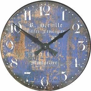 Roger lascelles orologio da parete con scritte in for Scritte da parete