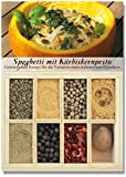 Spaghetti mit Kürbiskernpesto – 8 Gewürze Set für die Variation des italienischen Klassikers (47g) – in einem schönen Holzkästchen – mit Rezept und Einkaufsliste – Geschenkidee für Feinschmecker von Feuer & Glas