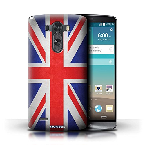 Kobalt® Imprimé Etui / Coque pour LG G3/D850/D855 / Italie/italien conception / Série Drapeau Royaume-Uni/Britannique