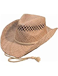 e6602ed1713 Quality Natural Straw Cowboy Hat (one size shapeable)