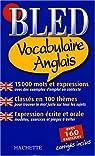 Bled Vocabulaire Anglais par Sussel