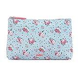 CATH KIDSTON Fresh Blue Lucky Bunch Matt Zip Cosmetic Bag