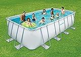 Summer Waves Schwimmbad 549x274x132cm Komplettset Frame Swimming Pool Stahlrahmen + Zubehör -