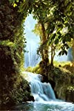 Yutirerly Zaragoza Falls Poster 24 x 36in with Poster