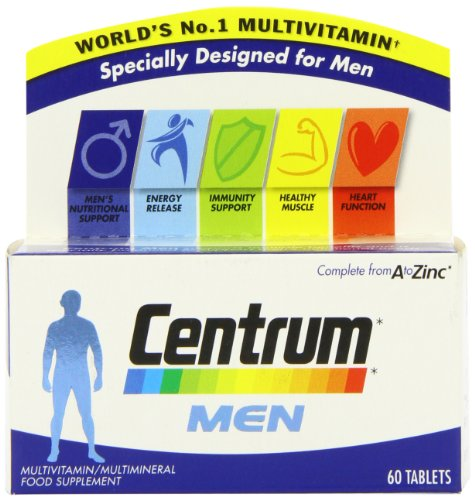 Centrum Multivitamins for Men - Pack of 60 -