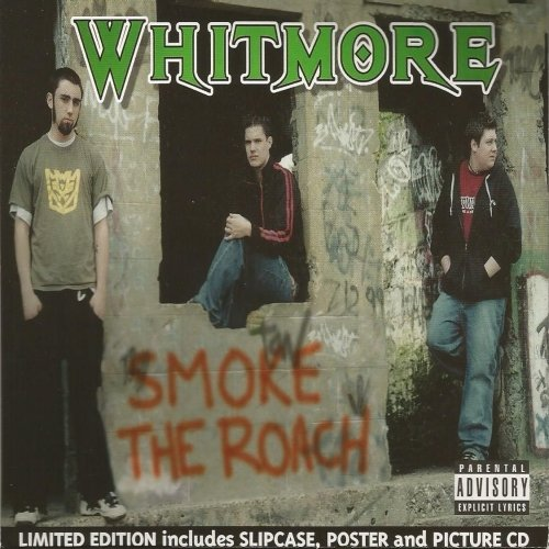 Whitmore - Smoke The Roach LIMITED EDITION Slip Case + Poster & Pic Disc, Inc FREE CD!