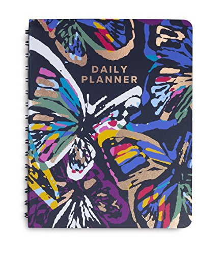 Vera Bradley Undated Hardcover To Do Daily Planner, 8.75