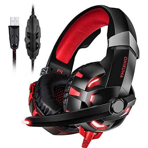 Gaming Headset für PS4, Alloet Wired Stereo