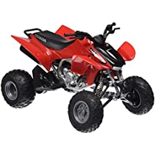 Newray 57503 - ATV Quad Honda TRX-450R, escala 1:12, color rojo