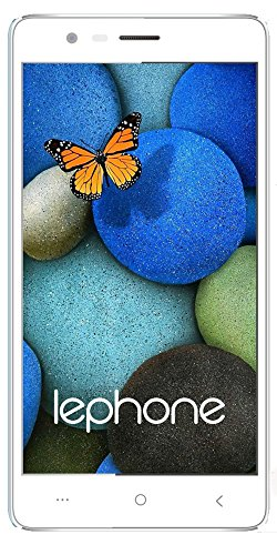Lephone W7+ Dual Sim(4G+4G) VoLTE 2.5D Curved Glass - White