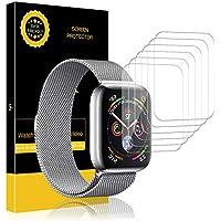 LK pere Apple Watch 38mm / 40mm Protector de Pantalla, [6 Piezas] Piel líquida HD Film Flexible Transparente para Apple Watch Series 1,Series 2,Series 3,Series 4 [garantía de reemplazo de por Vida]