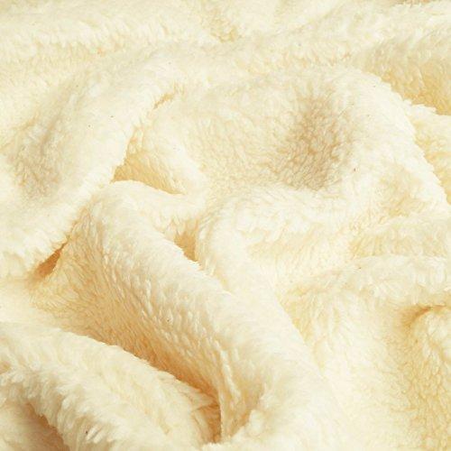 Paula - Tela peluche algodón orgánica pura - Por