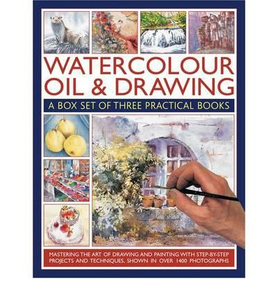 Watercolour, Oil & Drawing A Box Set of Three Practical Books by Hoggett, Sarah ( Author ) ON Nov-15-2011, Paperback