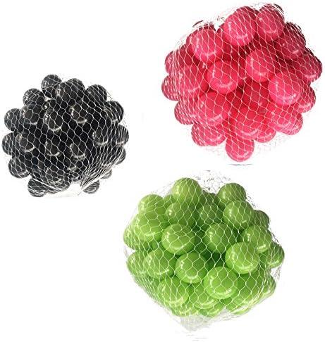 Balles balles pour salle de bain Mix Mix Mix AssortiHommes t de Vert, Rose et Noir   Qualité Fiable  153f7b