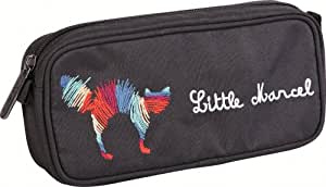 Clairefontaine Little Marcel Trousse rectangle Motif Chat