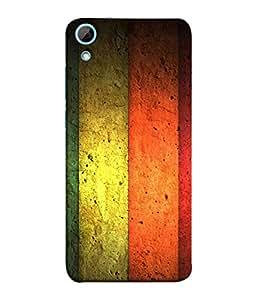 PrintVisa Flying Colors 3D Hard Polycarbonate Designer Back Case Cover for HTC Desire 828 Dual Sim