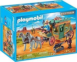 PLAYMOBIL- Diligencia Juguete, Multicolor (geobra Brandstätter 70013)