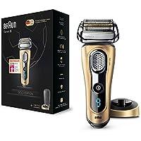 Braun Series 9 9299s - Rasoir électrique pour homme, humide et sec, rechargeable et sans fil -  Édition OR