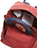 Fjällräven Unisex Rucksack Kånken Mini, ox red/royal blue, 20 x 13 x 29 cm, 7 Liter, 23561-326/540