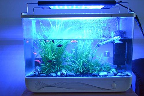 RQ - Illuminazione per acquari 115 cm 30 W 3, struttura in alluminio, lampada LED per acqua di mare e acqua dolce