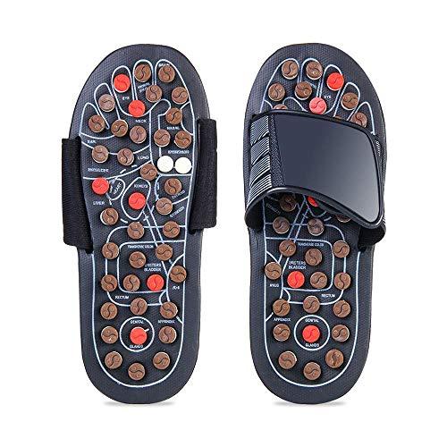 FOONEE Akupressur-Fußmassagematte, Relaxer, Reflexzonenmassagewerkzeuge, Schmerzlinderung, Gesundheitsschuhe, 42-43