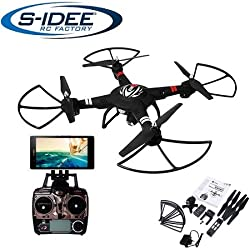 S de Idea® 01628cuadricóptero S303WiFi HD cámara FPV Altura estabilización, One Key Return, Coming Home