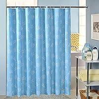 Shower Curtain Curtain poliestere ispessito opaco Mildewproof Bagno nessuna deformazione non svanisce antimacchia , 200*180 high thickening section