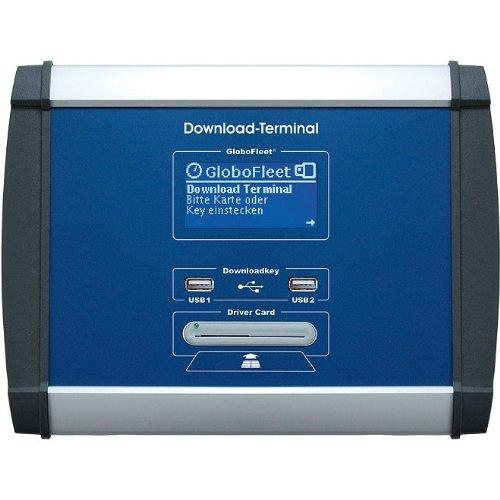 GloboFleet LAN-DLT-2012 Downloadterminal DLT II LAN zum Auslesen und Archivieren von Fahrerkarten und Massenspeicherdaten