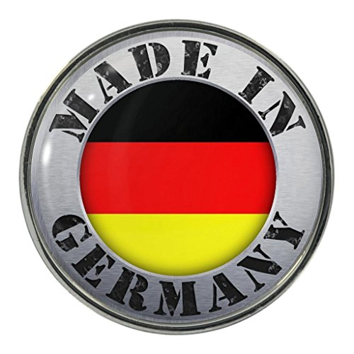 Made in Germany Metall Magnet Kühlschrankmagnet - Kühlschrank Magnet Deutschland