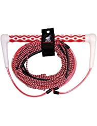AIRHEAD AHWR-6 Wakeboard Rope Dyna Core, Red, 70-Feet by Kwik Tek